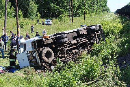 ВОрловской области отменили праздничные мероприятия из-за дорожно-траспортного происшествия
